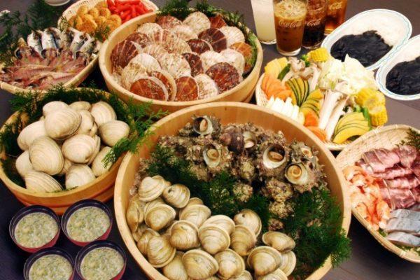 烤海鮮午餐